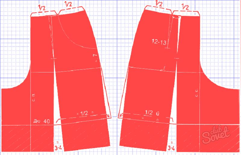 Как из юбки сшить юбку-шорты своими руками