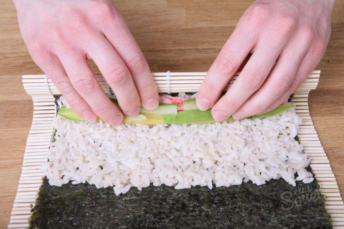 Как правильно приготовит рис для суши