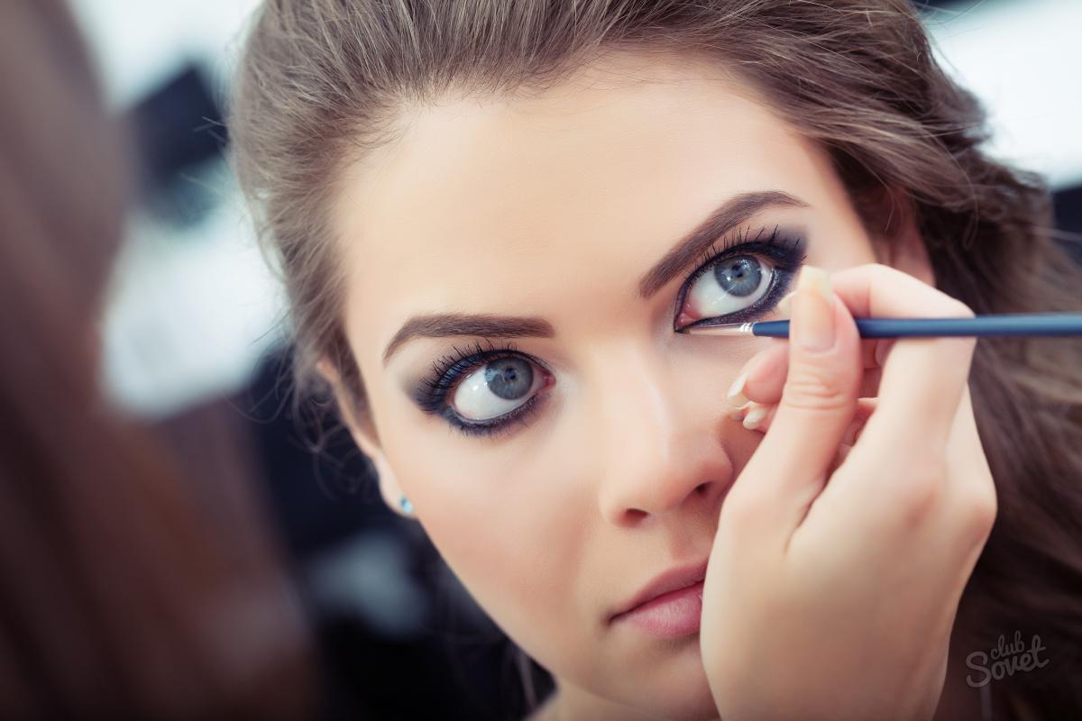 Как сделать глаза больше макияж фото