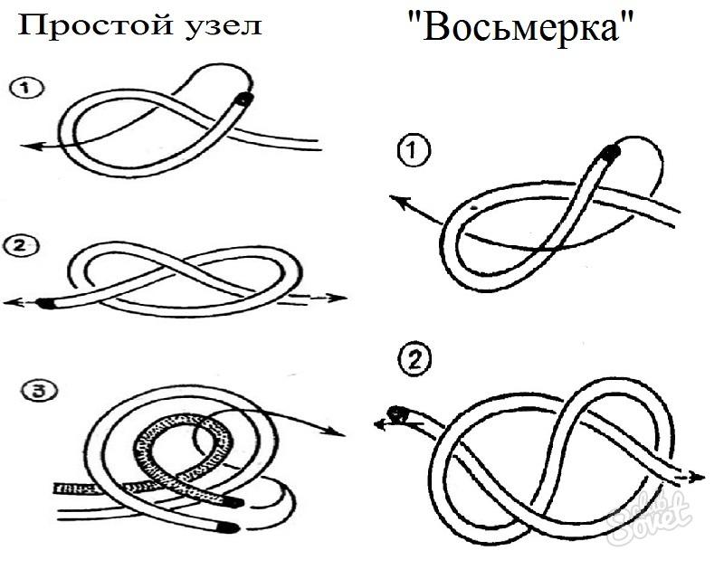 Как завязать морской узел инструкция