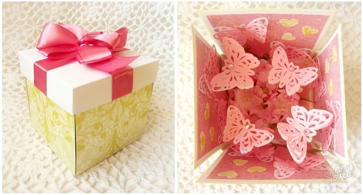 Подарки и коробочки своими руками фото