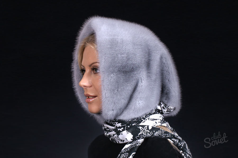 Зимняя косынка своими руками фото