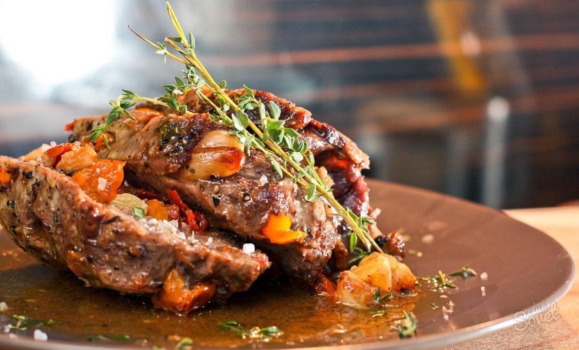 Свиной язык с овощами рецепты