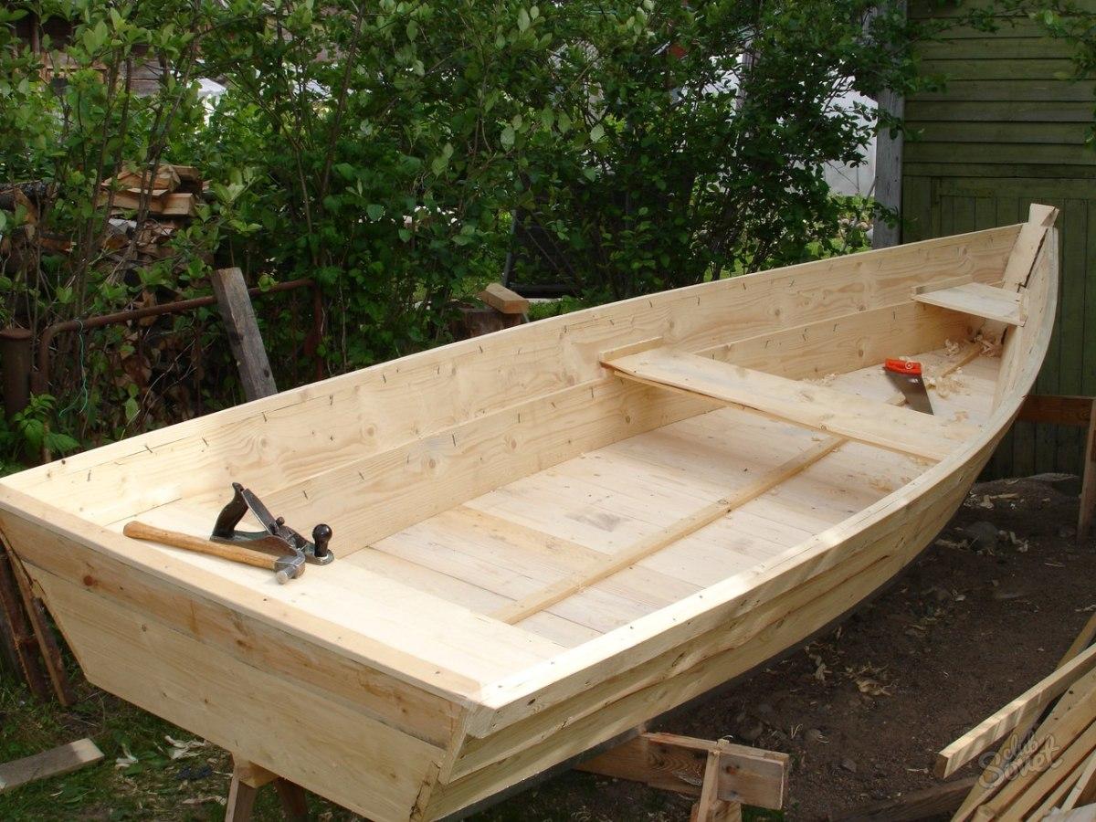 Сделать лодку своими руками из досок