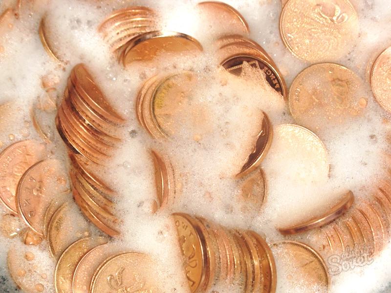 Как очистить монеты в домашних условиях от окисления 217