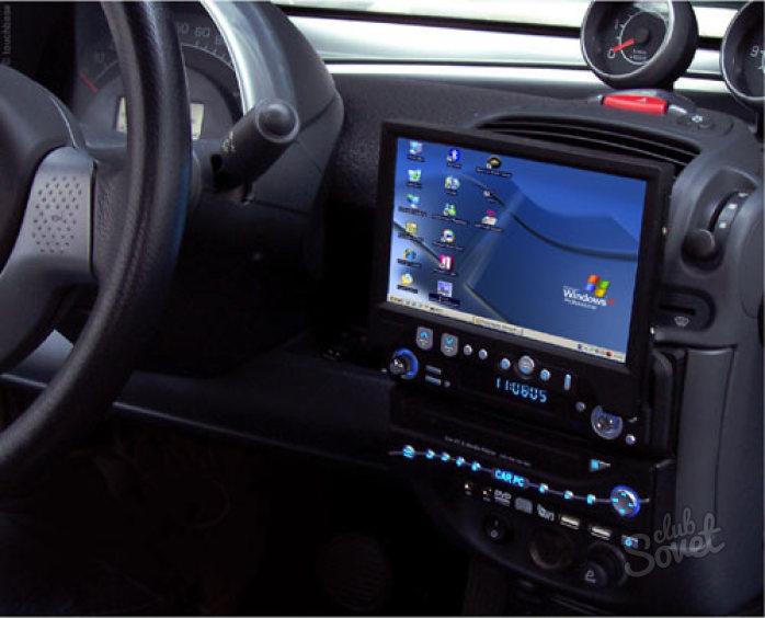 Монитор в авто своими руками