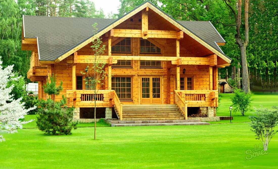 Деревянные дома и бани фото