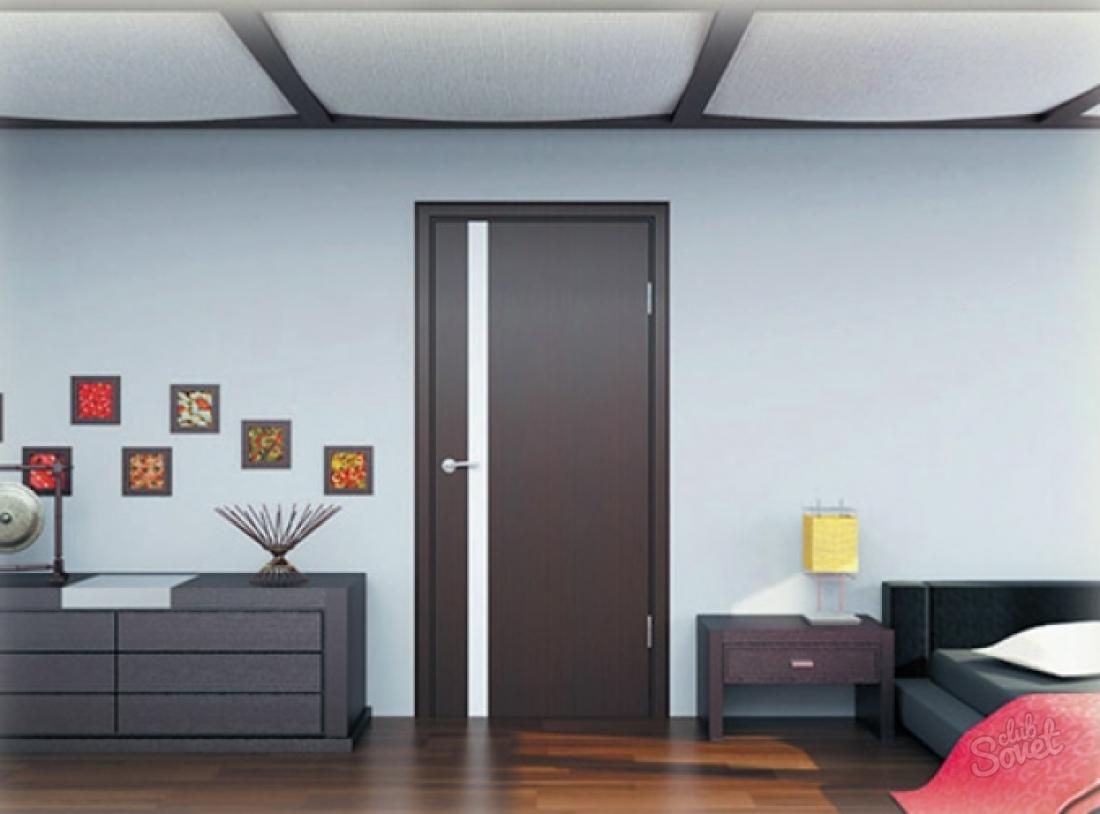 Двери венге межкомнатные фото в интерьере