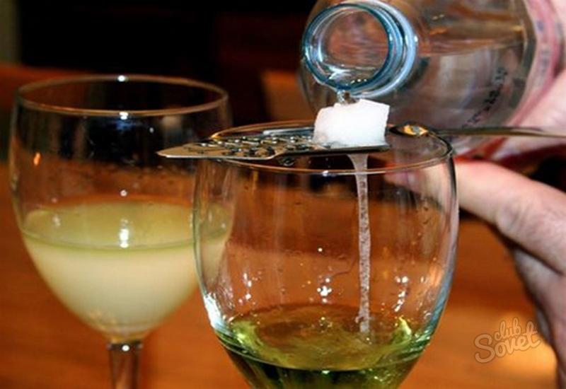Как пить абсента в домашних условиях