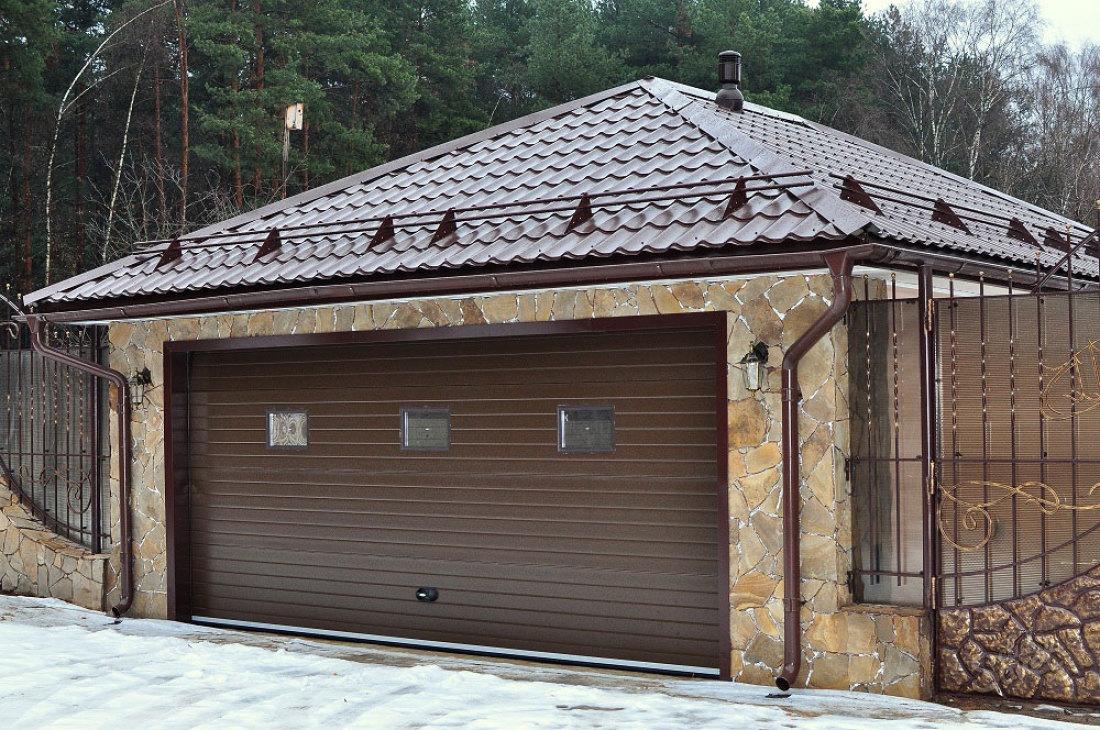 Фото частных домов с гаражами