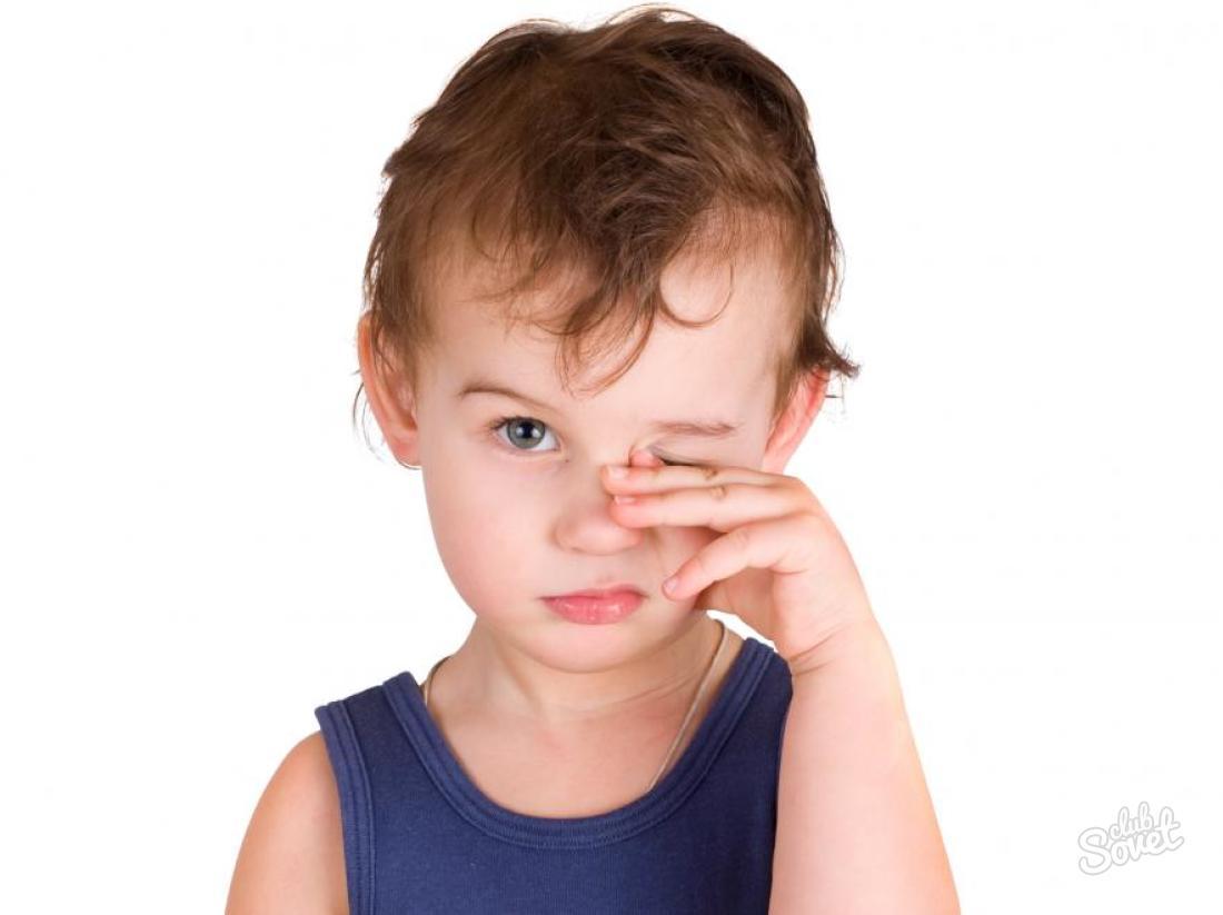 головой восток малыш часто трет глазки сестры