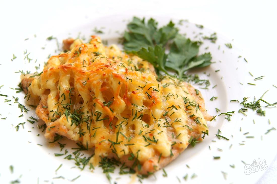 рецепты рыбы под сыром в духовке