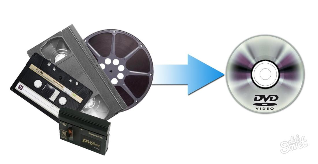 Оцифровка с видеокассет своими руками