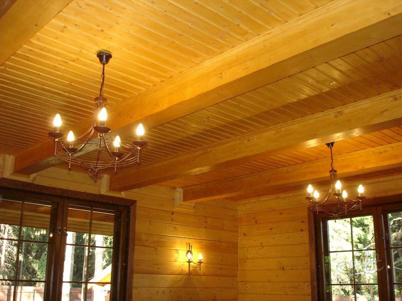 Потолки своими руками в деревянном доме