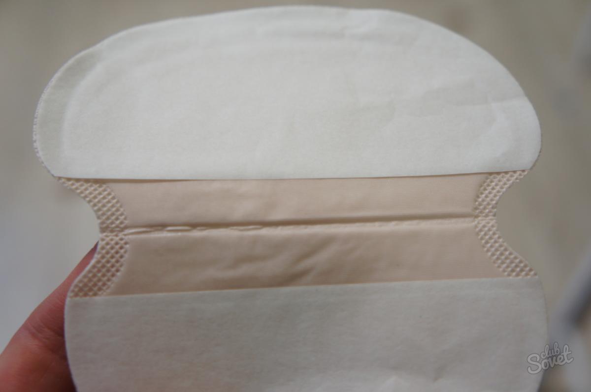 Прокладки для подмышек от пота: как приклеить вкладыши 35