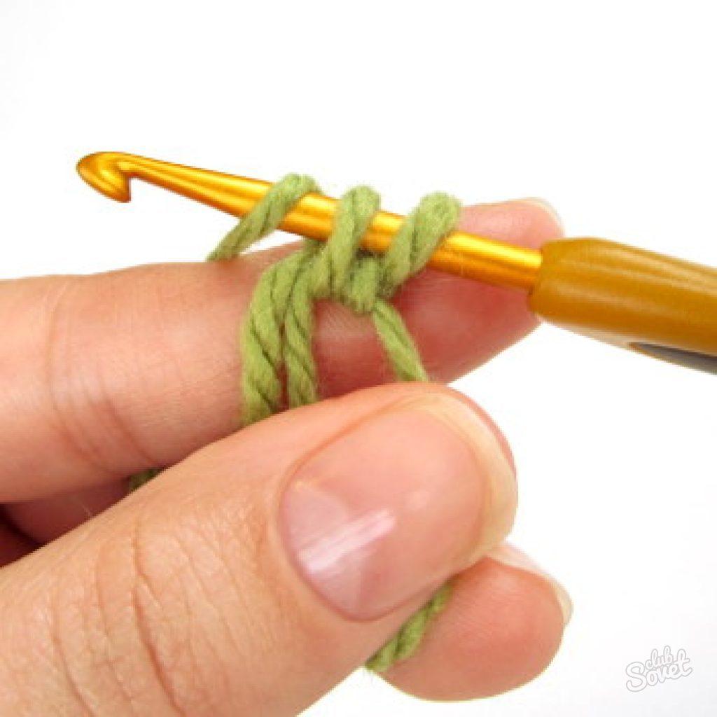 Как закрепить нить при вязании амигуруми