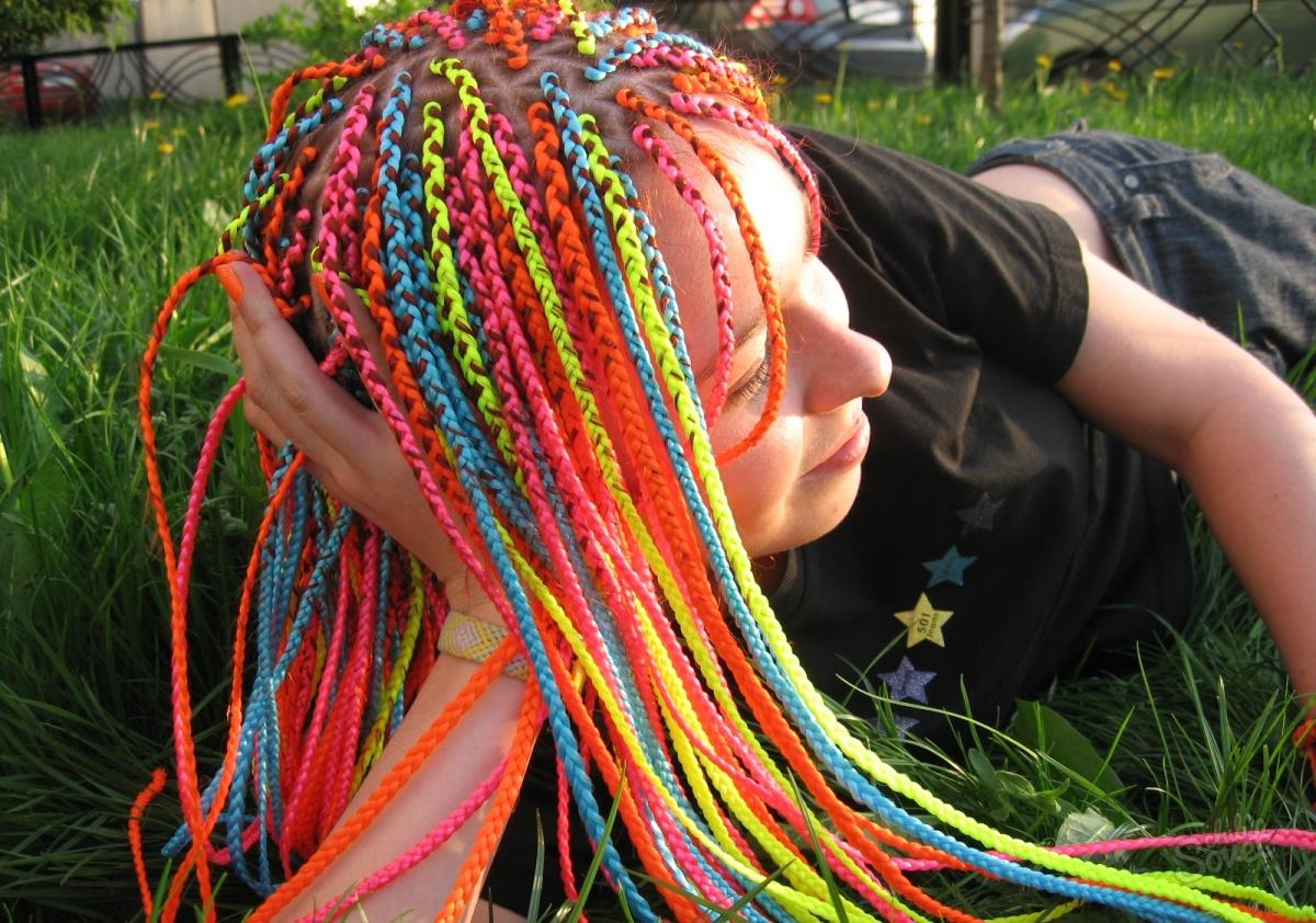 Как можно заплести волосы самой себе - 34