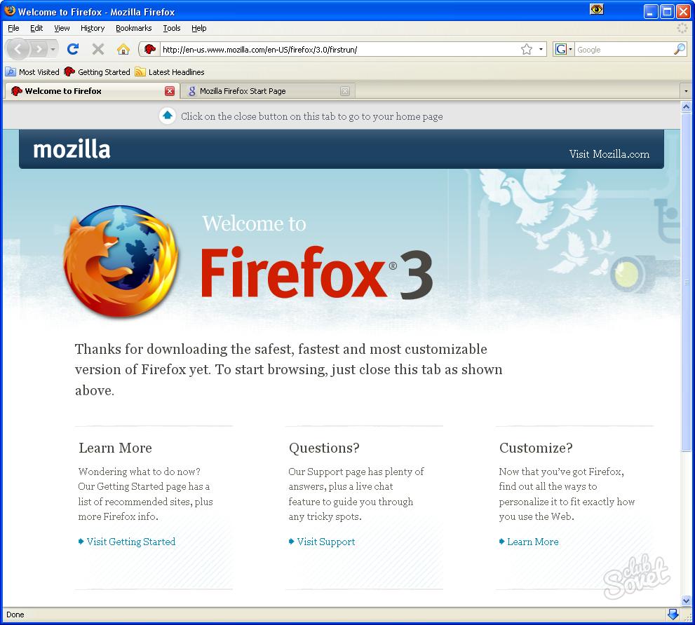Mozilla скачать на компьютер