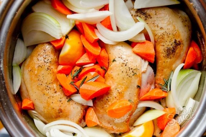 Что приготовить из курицы