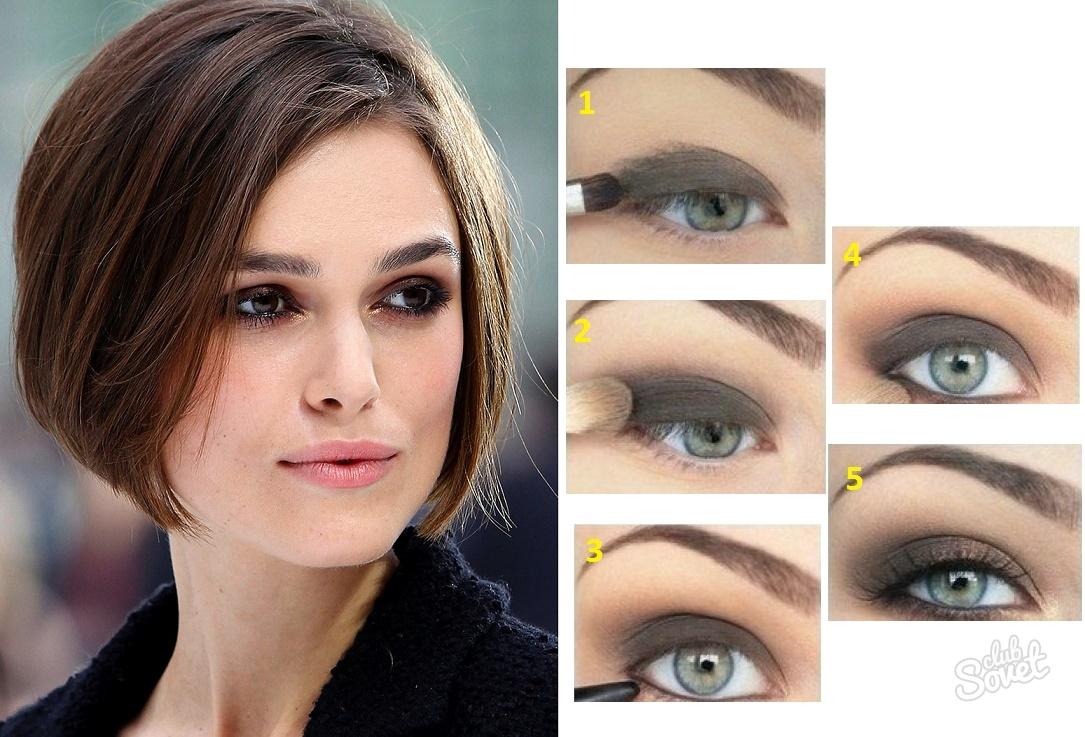 Цвет макияжа и волос для зеленых глаз