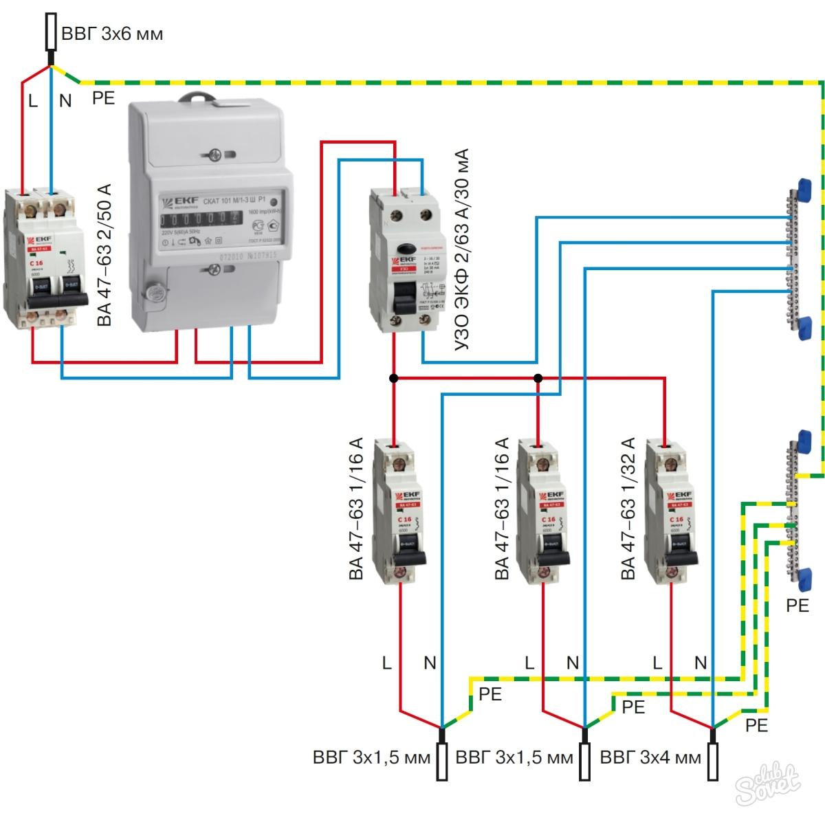Что будет если автоматический выключатель подключить наоборот