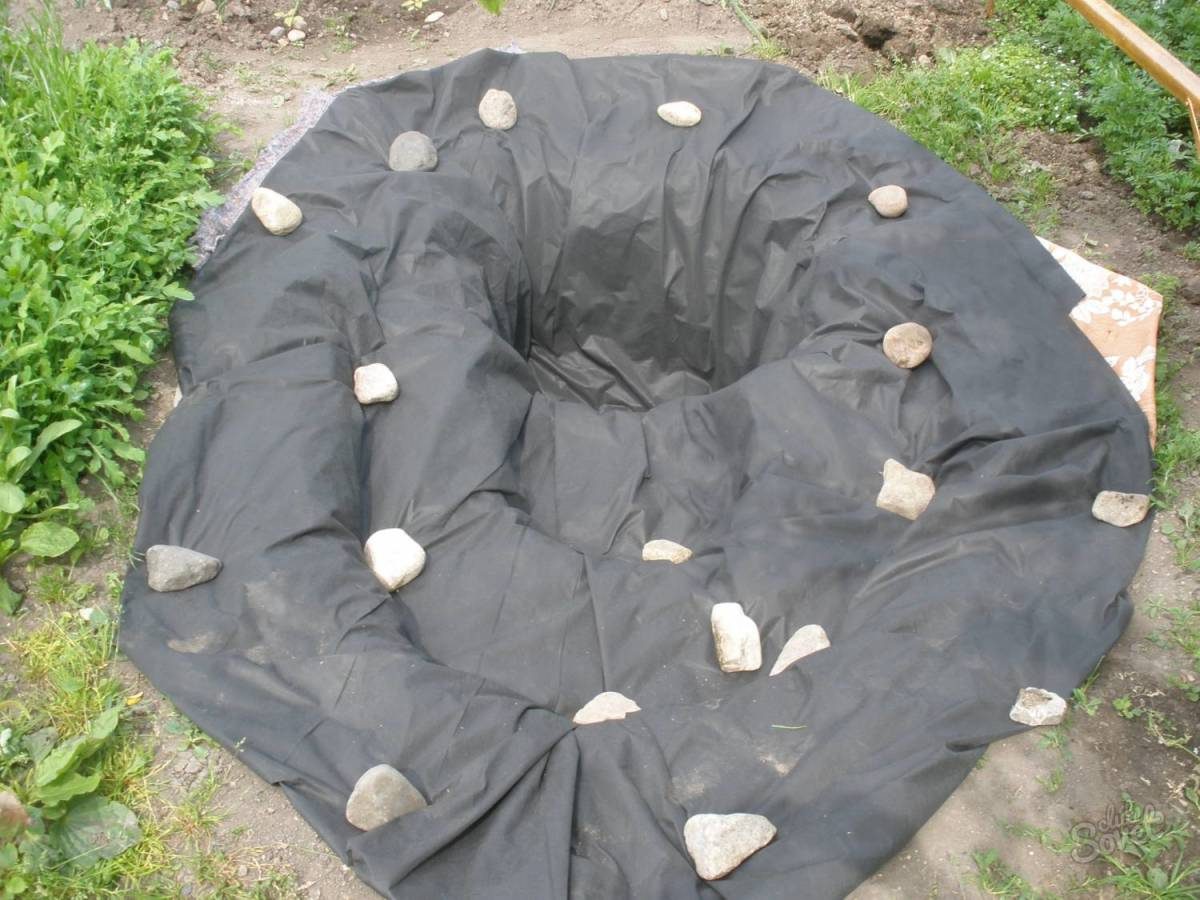 Как вырыть пруд на даче своими руками