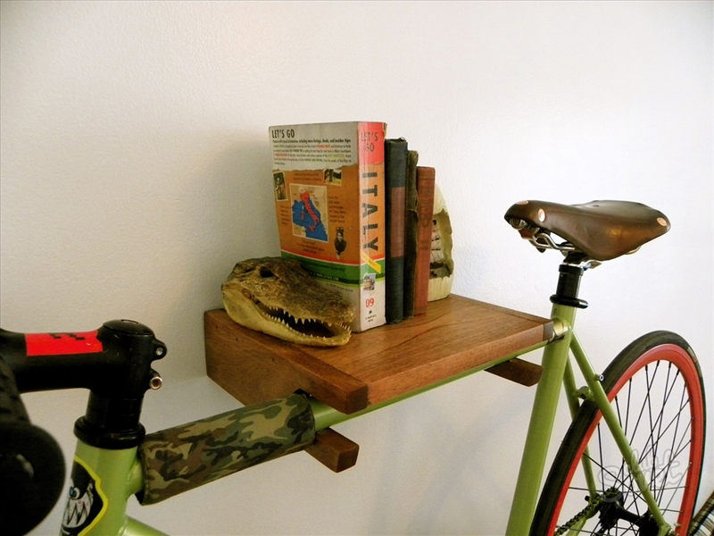 Полки для велосипедов своими руками