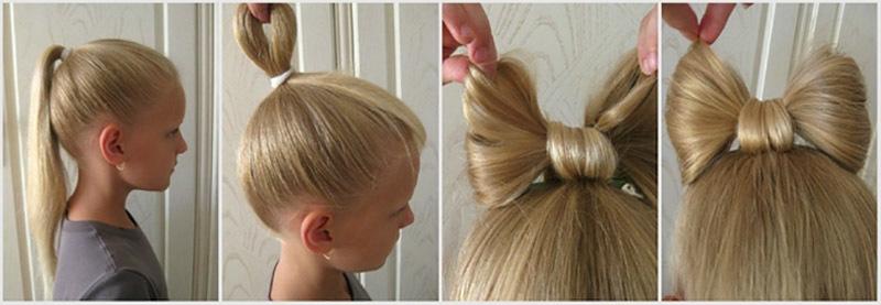 Фото причесок длинные волосы 1 сентября