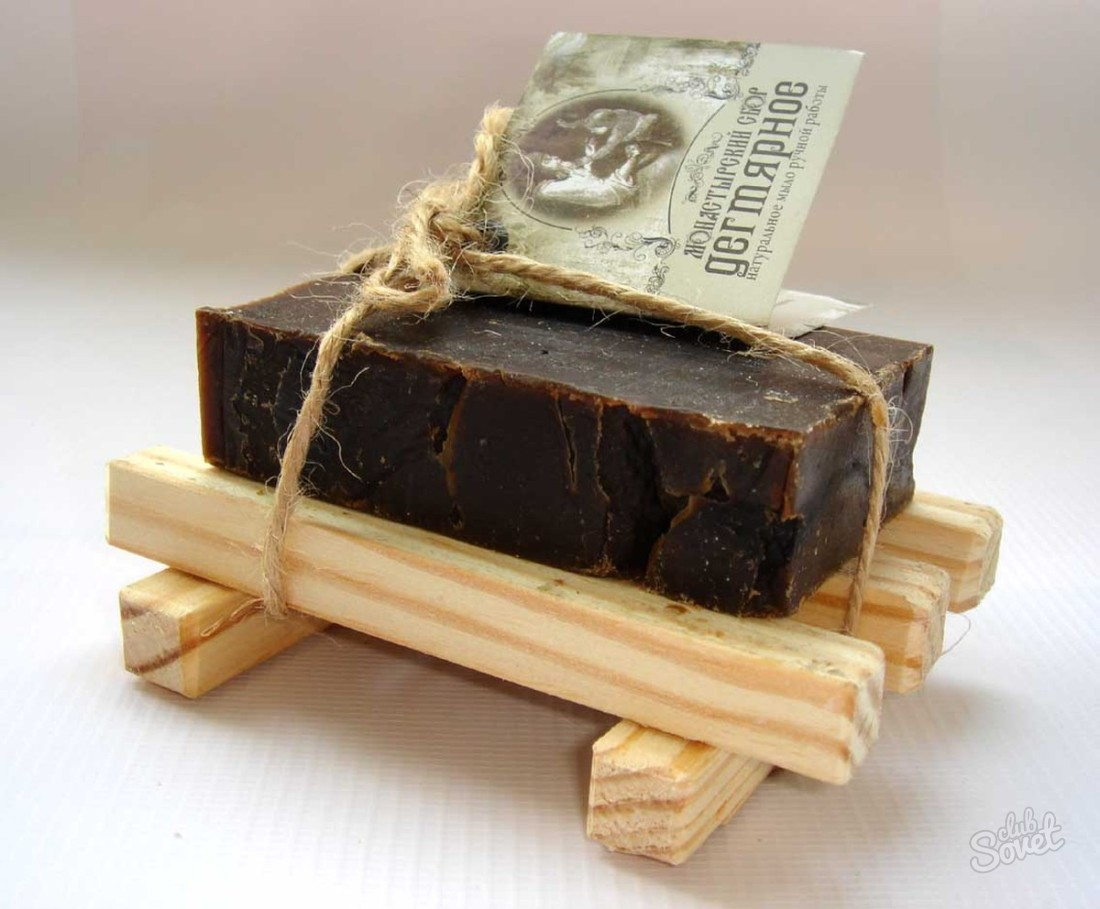 Дегтярное мыло — чем полезно