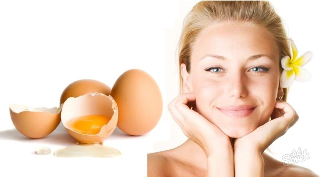 Маска для из яйца для волос в домашних условиях для
