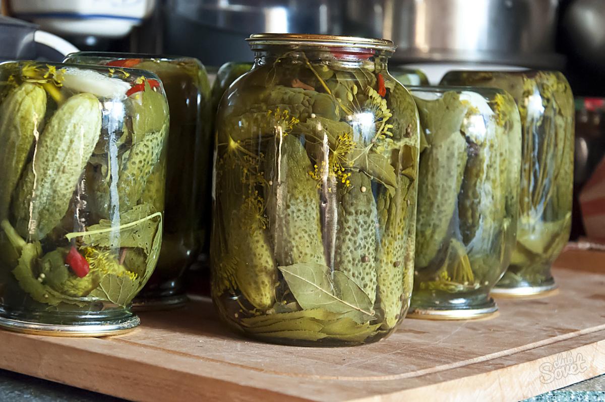 Огурцы маринованный рецепт в домашних условиях 349
