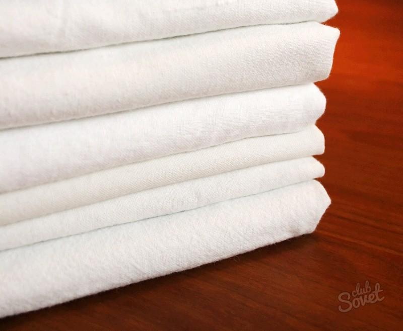 Отбеливание полотенец в домашних условиях