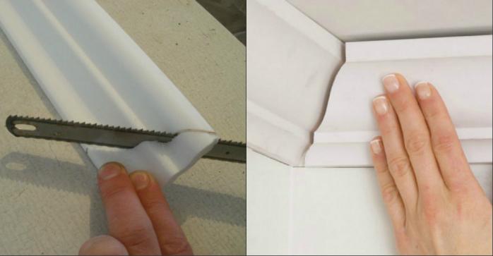 Как сделать плинтус своими руками в домашних условиях
