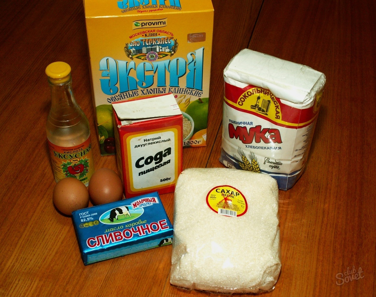 Как делать овсяное печенья в домашних условиях