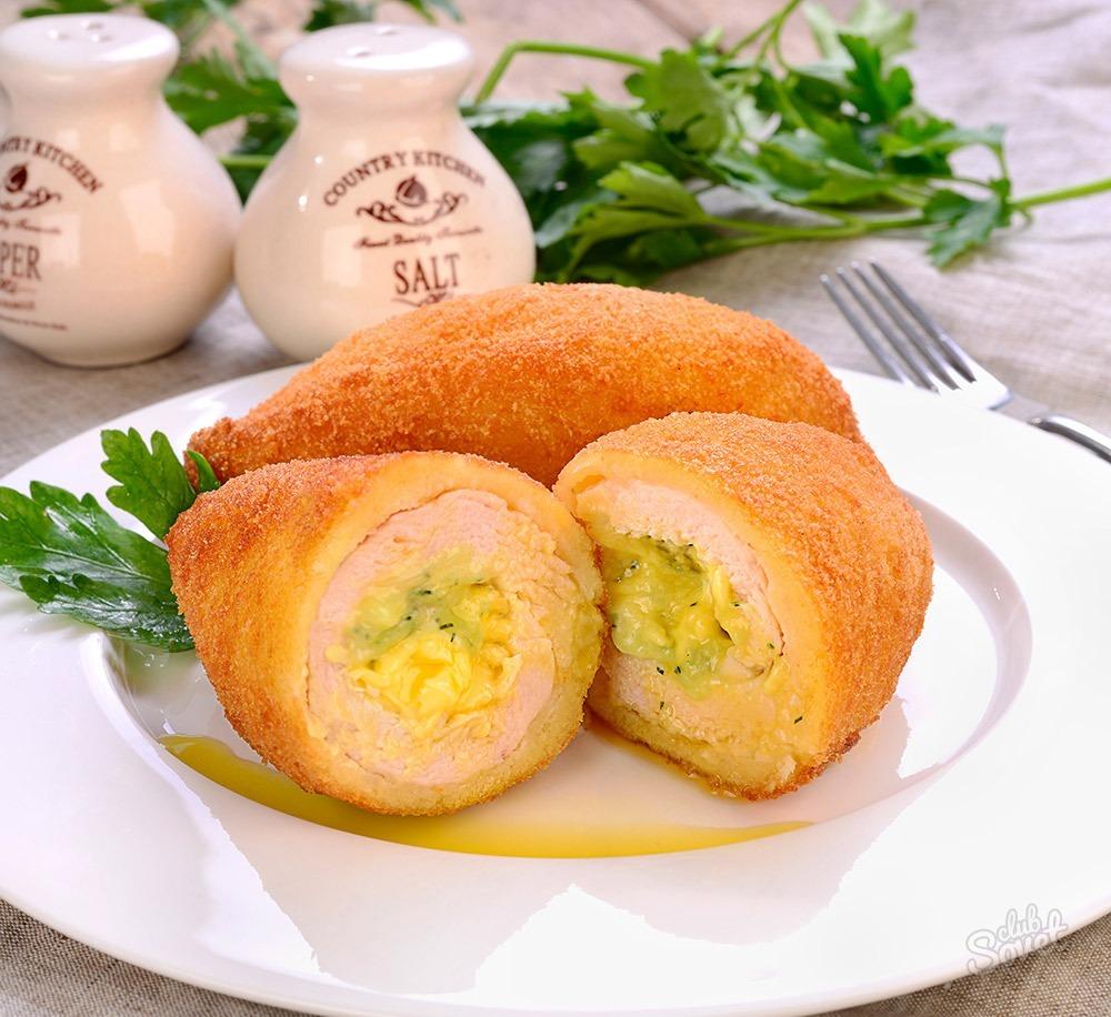 Котлеты по-киевски сыром рецепт с пошаговым фото