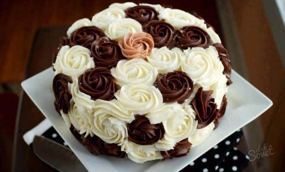 Как испечь красивый торт в домашних условиях