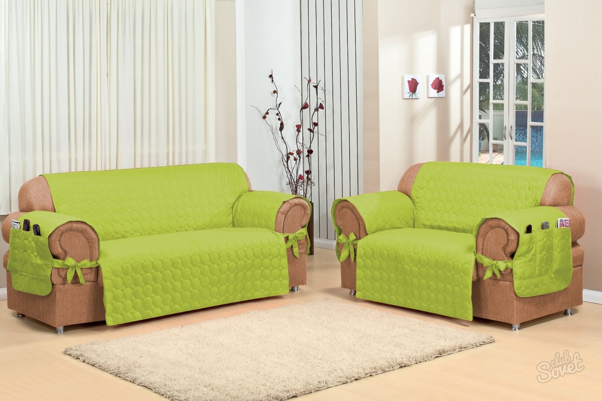 Накидки на диваны и кресла своими руками фото