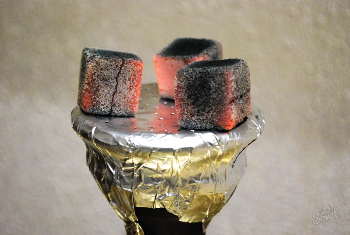 Как сделать свой уголь для кальяна 504