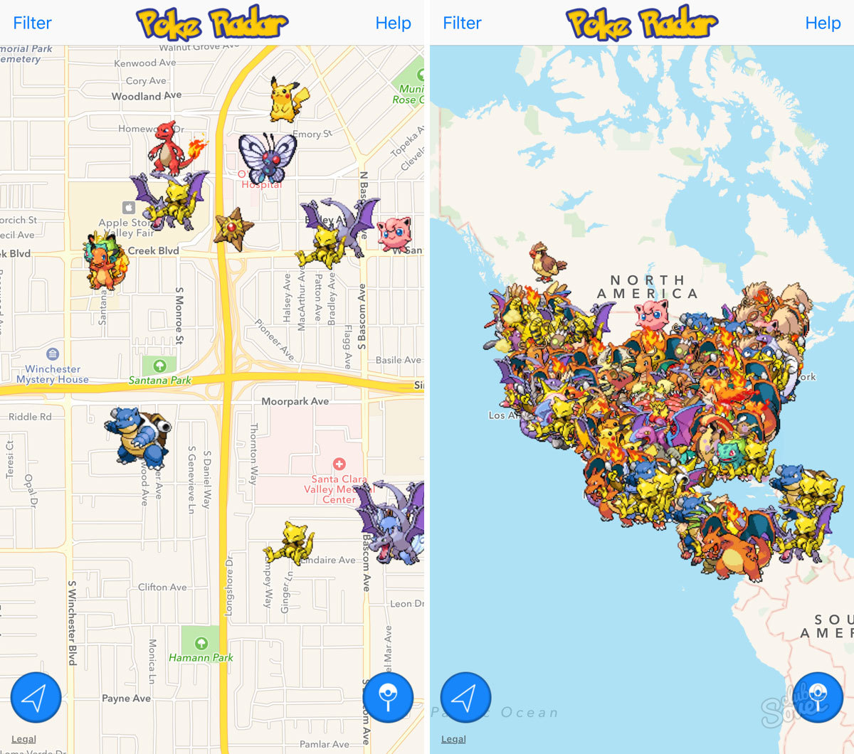 pokemon go как ловить по следам