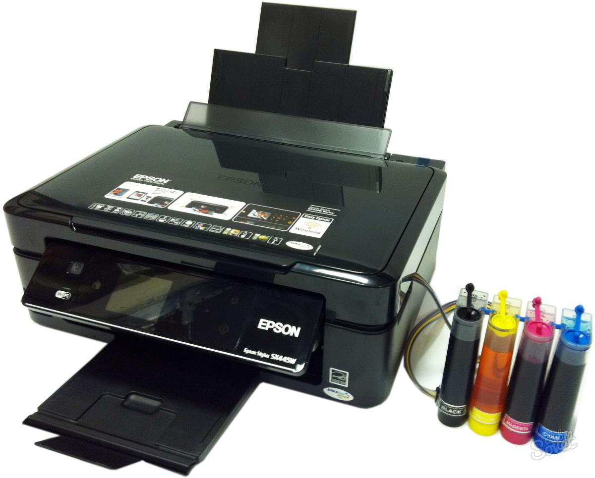 Как сделать принтер без картриджей - Solbatt.ru