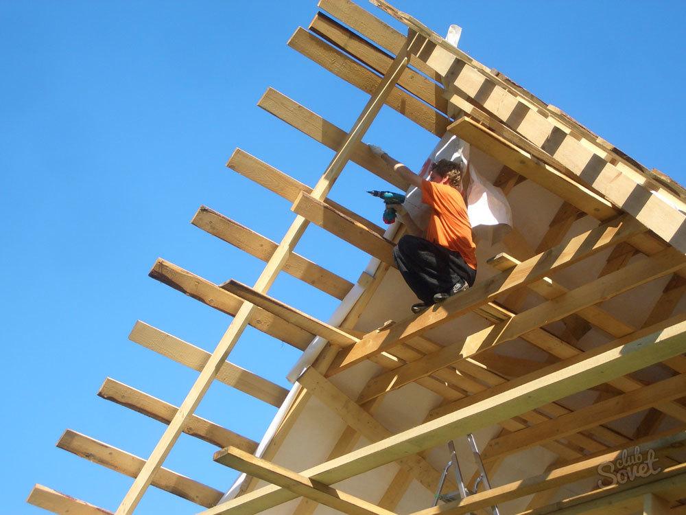 Как сделать большую крышу 927