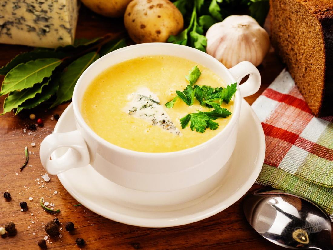 Простой суп из плавленных сырков рецепт