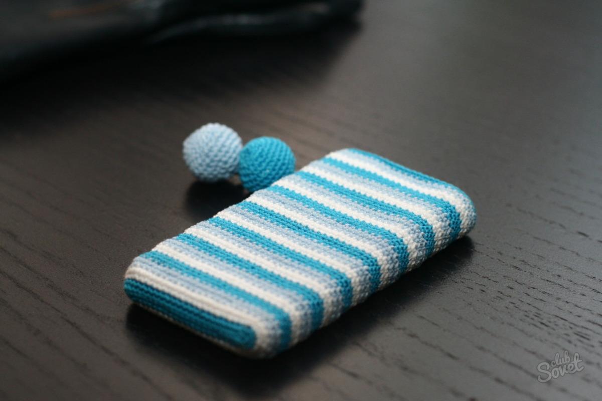 Чехлы на телефоны своими руками крючком