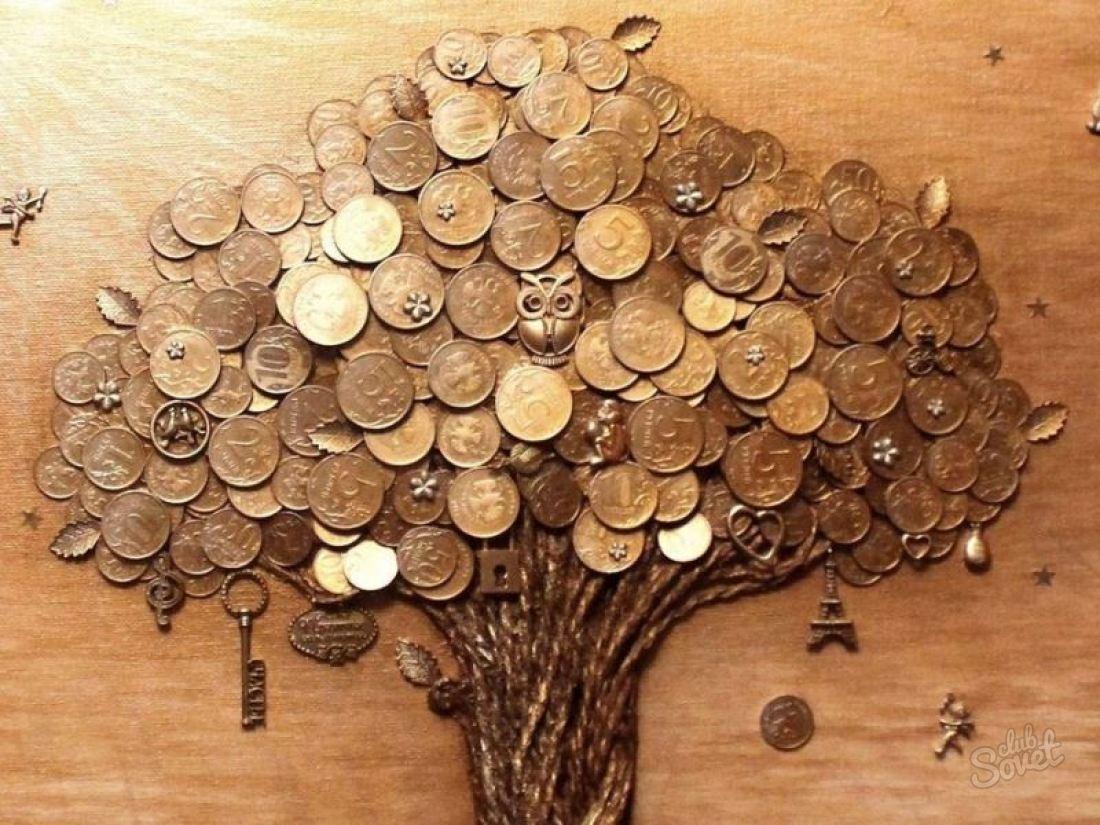 Денежное дерево своими руками из монет топиарий своими руками фото 386