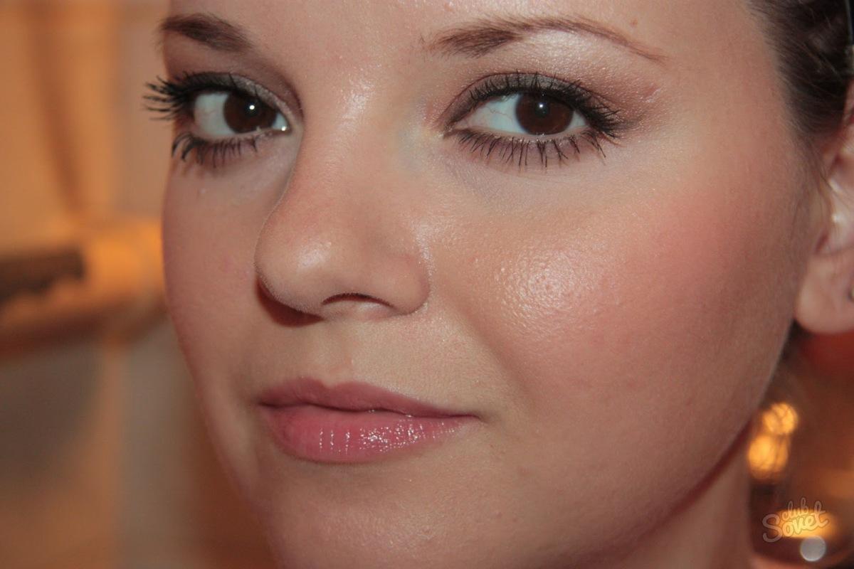 Жирный блеск на коже лица