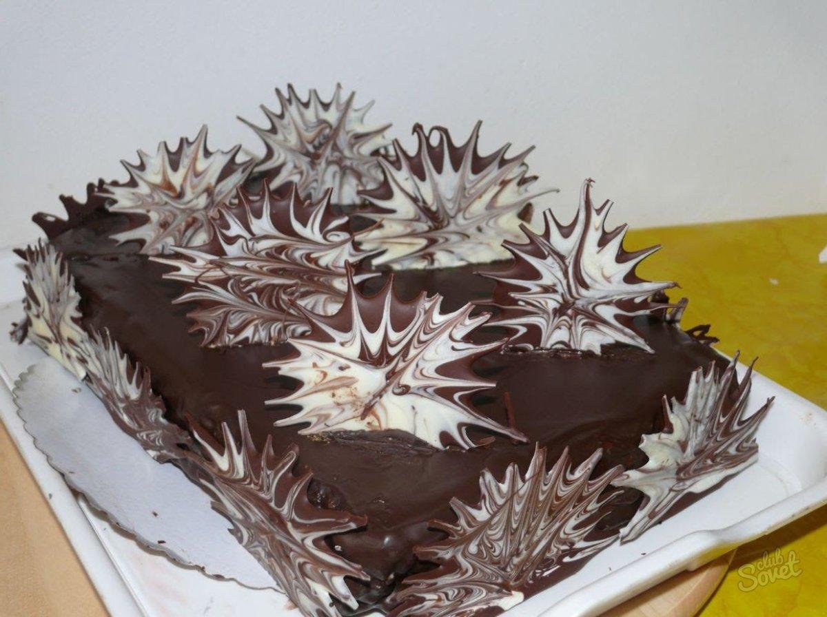 Оригинальное украшение торта своими руками в домашних условиях фото
