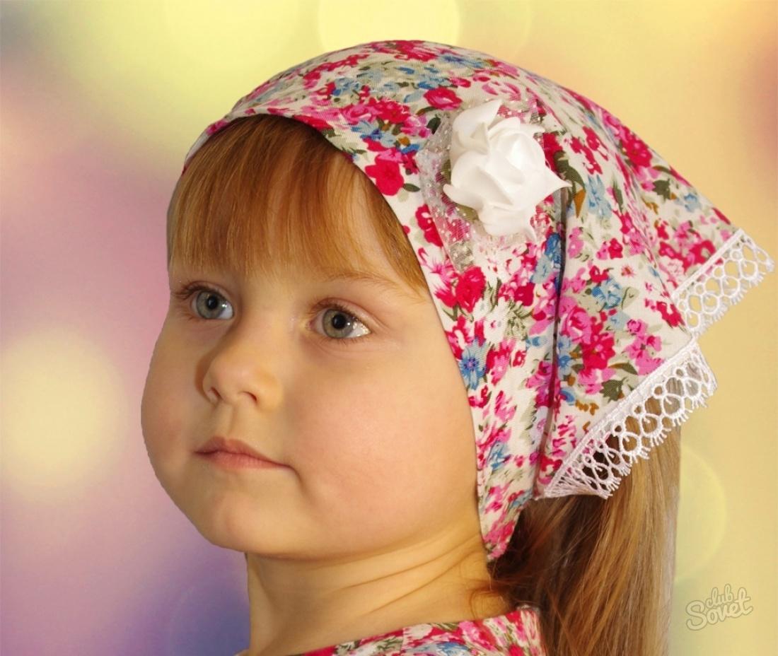 Косынка на голову своими руками из ткани