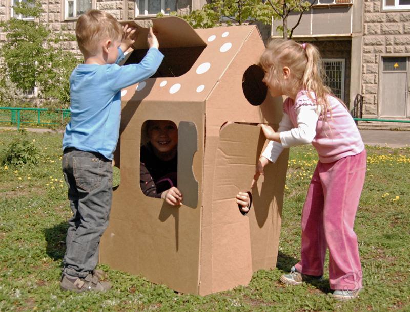 Как сделать домик ребенку самому 182