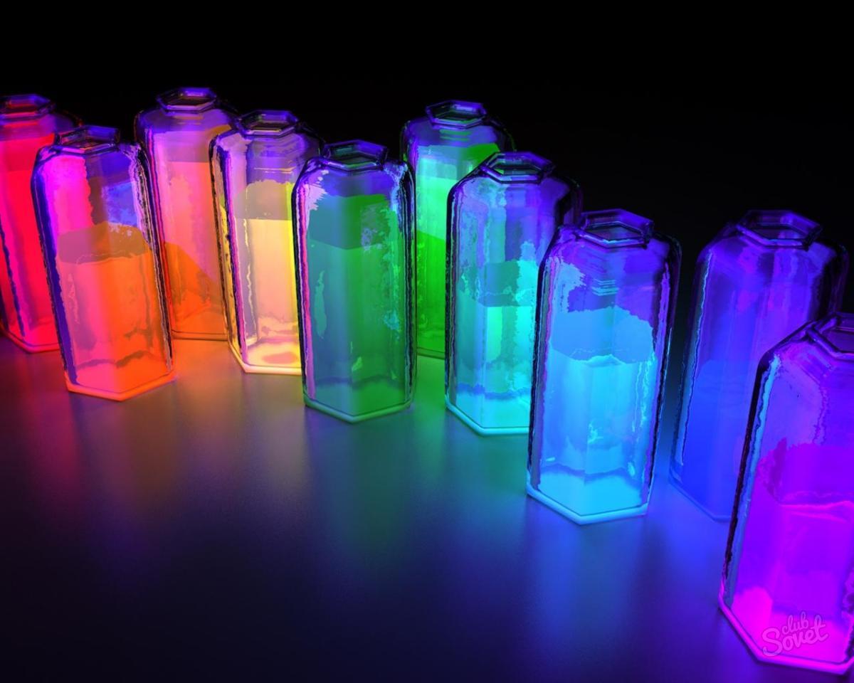 Светящаяся вода в домашних условиях