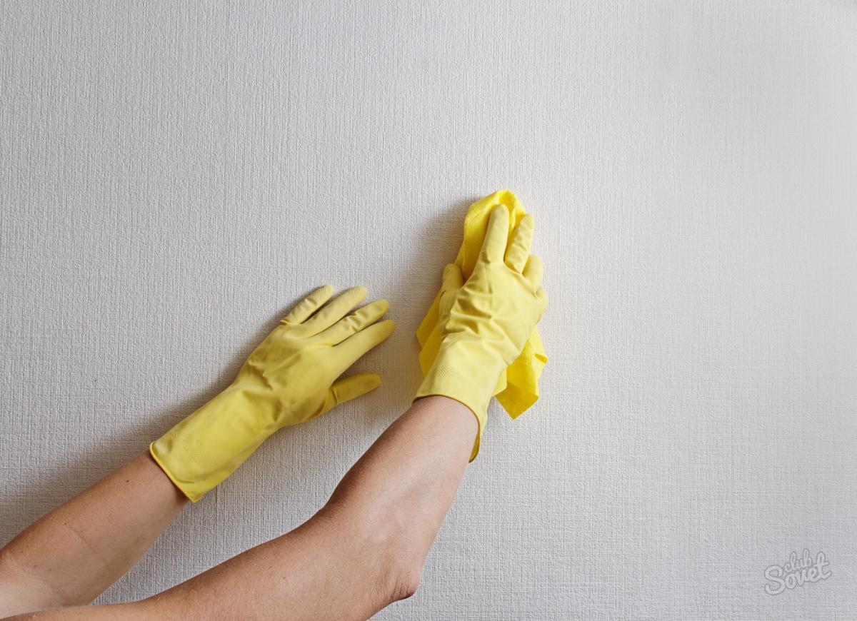 Как сделать моющиеся обои 421